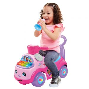 Fisher Price LP Music Parade Ride On Pink