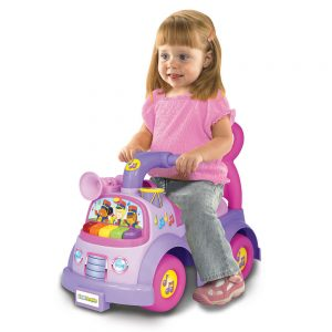 Fisher Price Music Parade Ride-on Purple