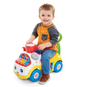 Fisher Price Little People Ultimate Music Parade Ride-on Yellow